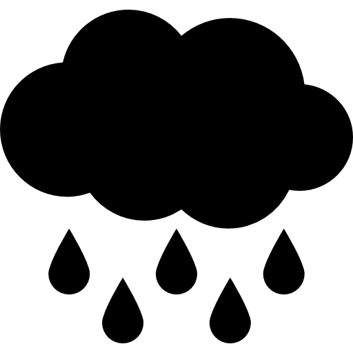 Rain Cloud Icon image #11052