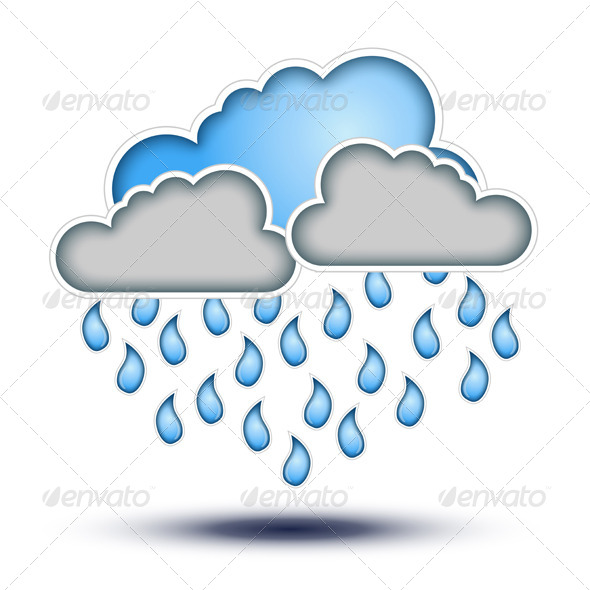 Rain Cloud Icon image #11056