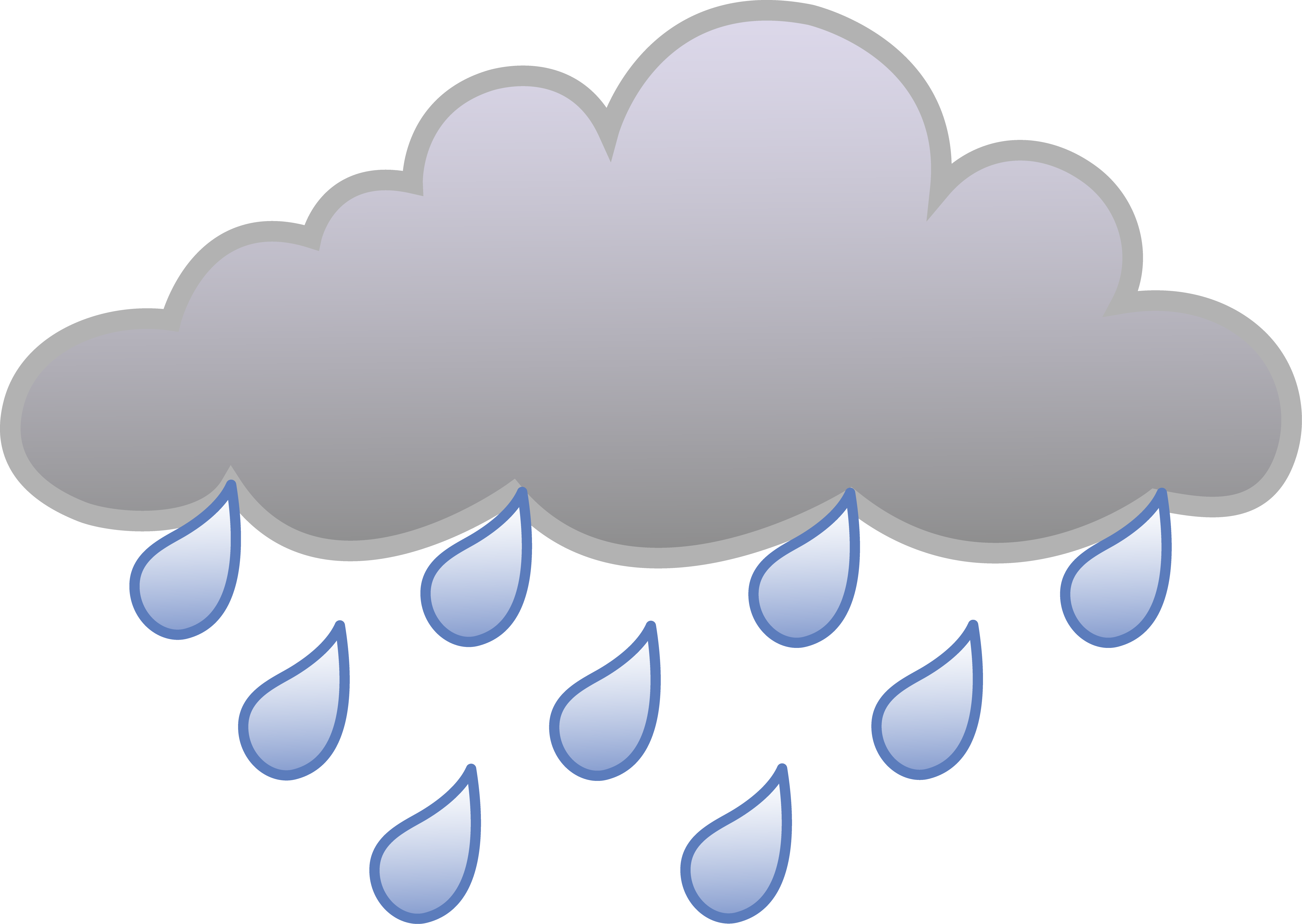 Rain Cloud Icon image #11061
