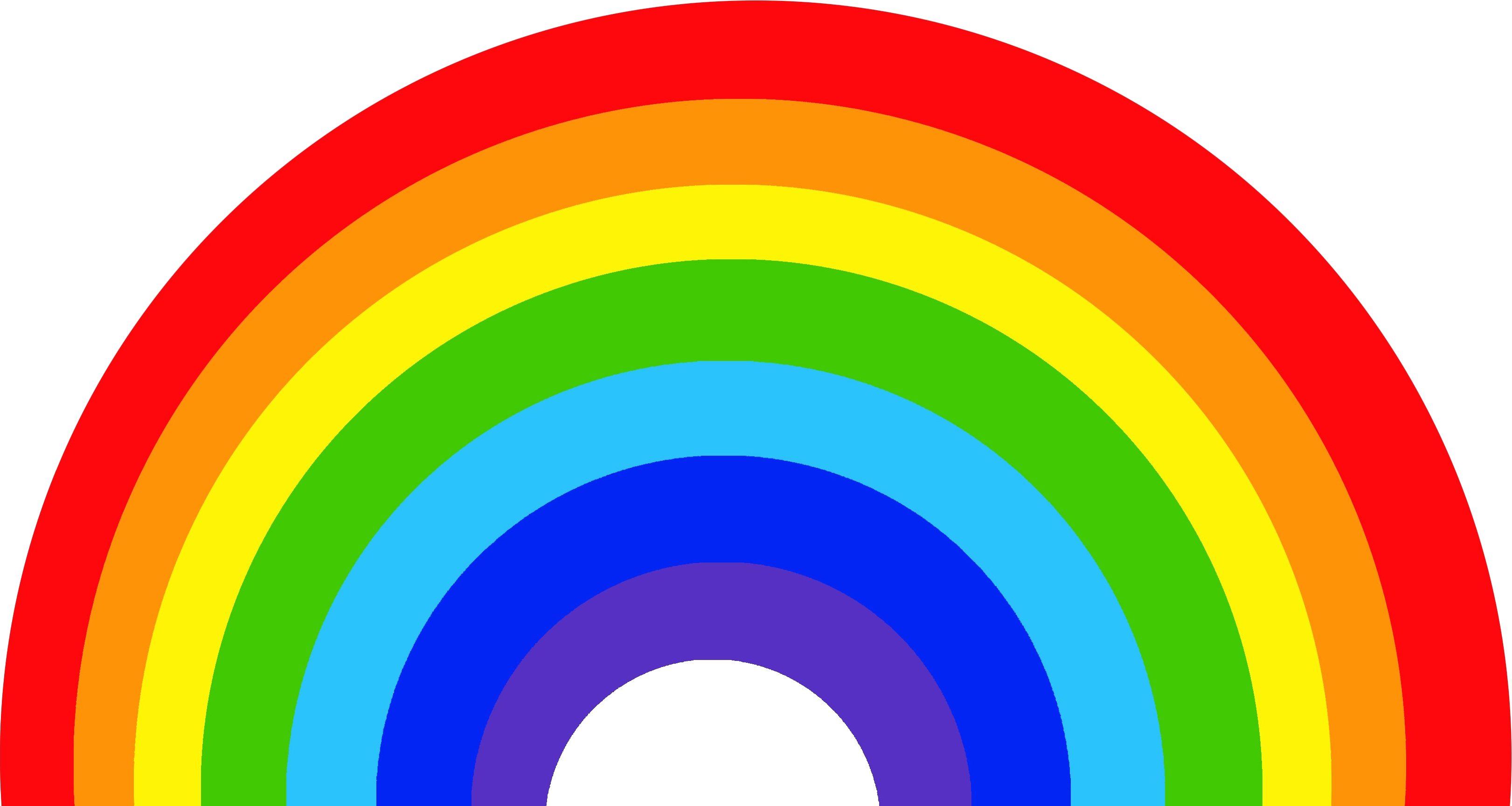 Large Rainbow Png image #7008