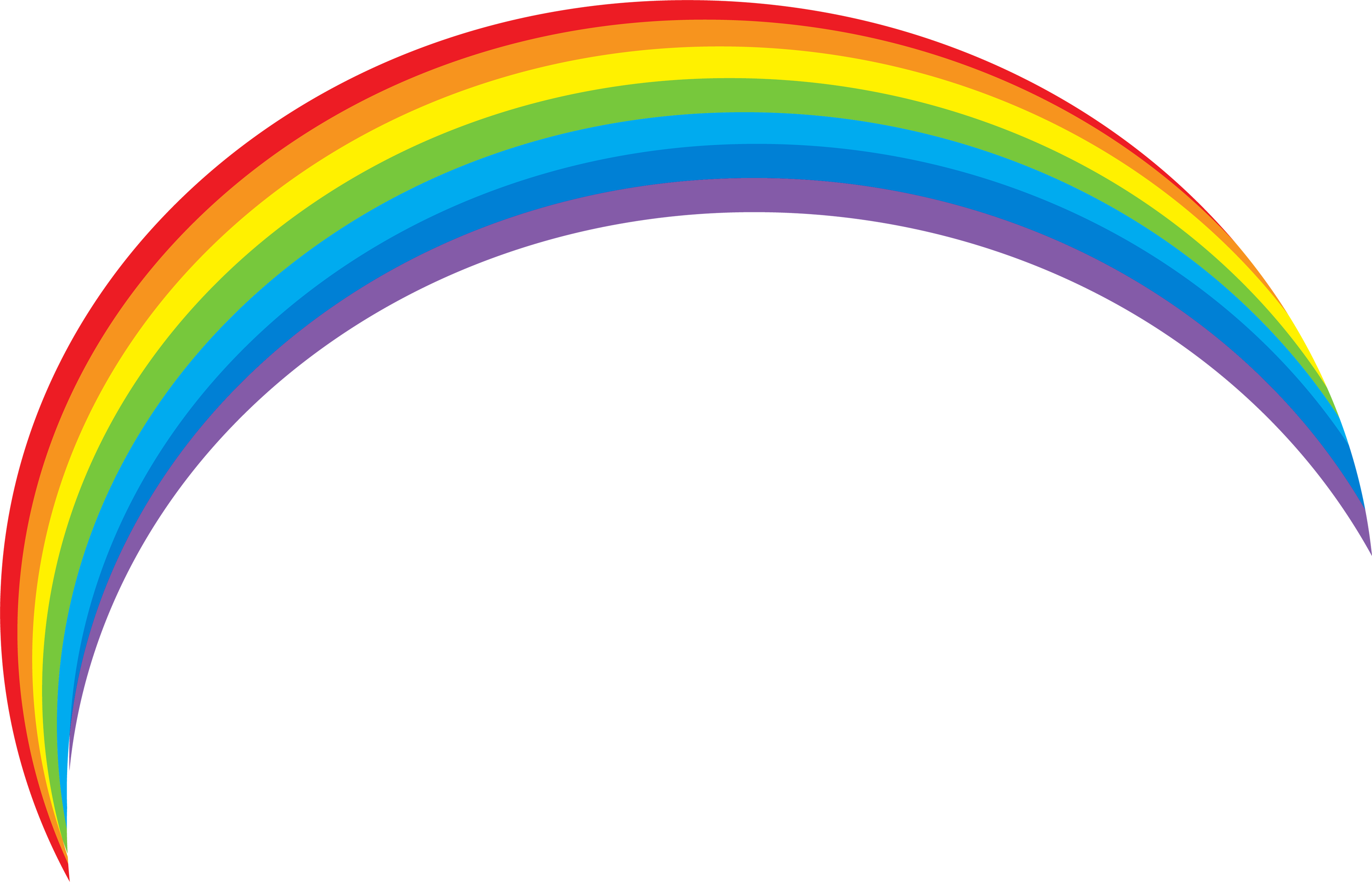 Rainbow Clipart Png image #6994