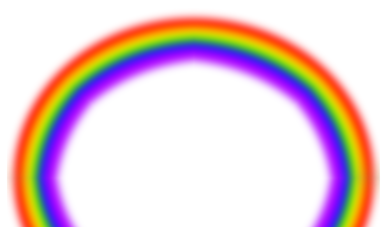 Blurry Rainbow Png image #7016