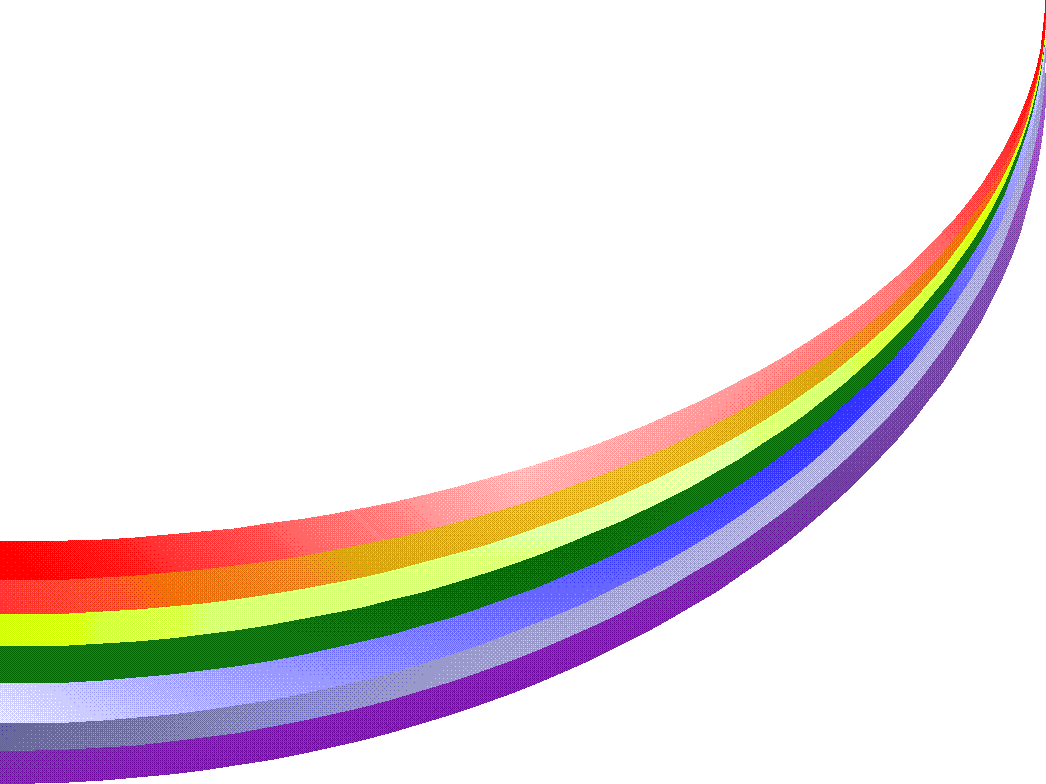 Rainbow Curved Png image #6998
