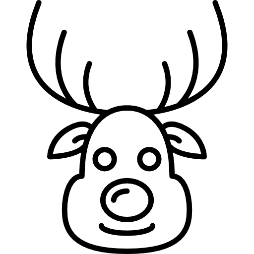 Vector Reindeer Icon