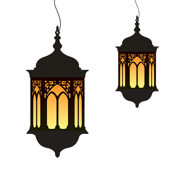 Ramadan Lamp Duo transparent PNG