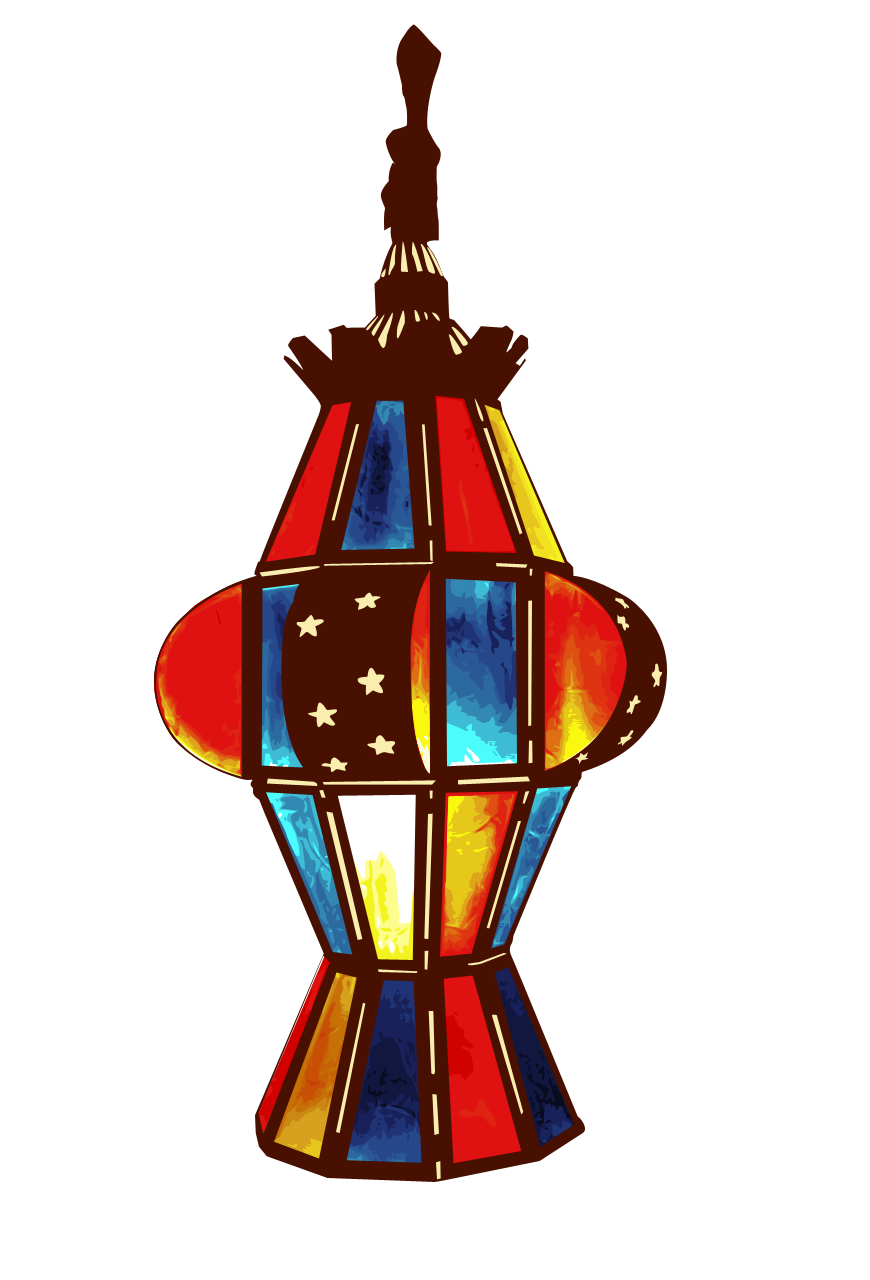 Ramadan Lamp From Khatib 870x1280, Ramadan HD PNG Download