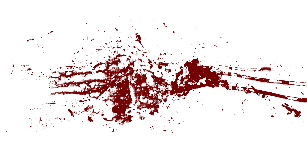 Real Blood Splatter Png image #44460