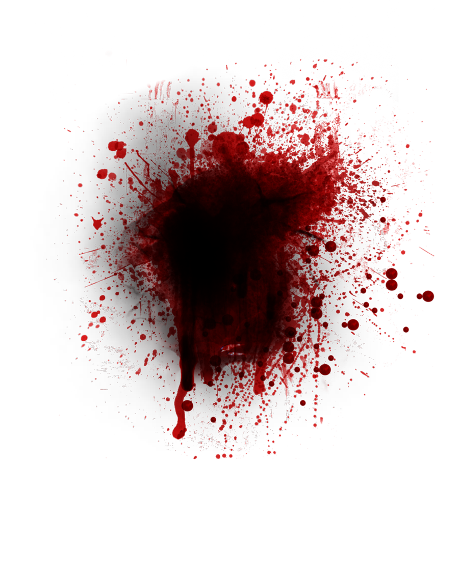Real Blood Splatter Png Photo image #44463