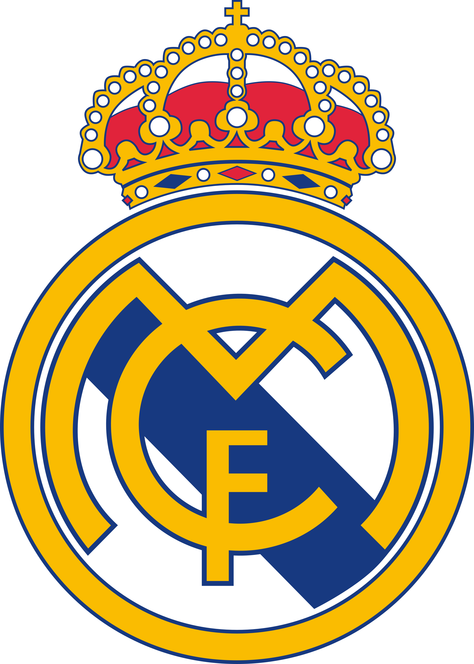 Real Madrid Logo Clipart PNG image #24636