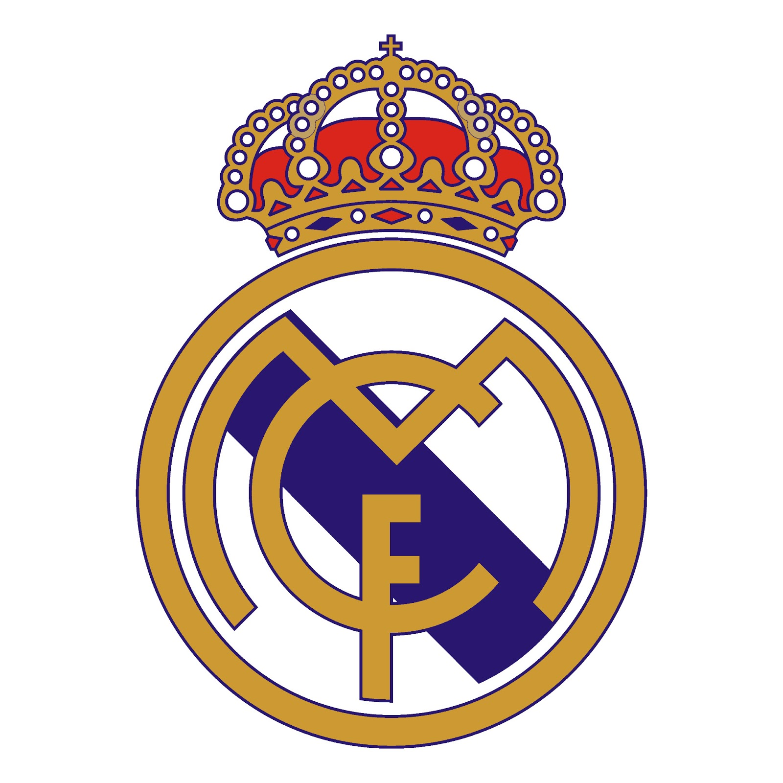 Png Real Madrid Logo Collection Clipart