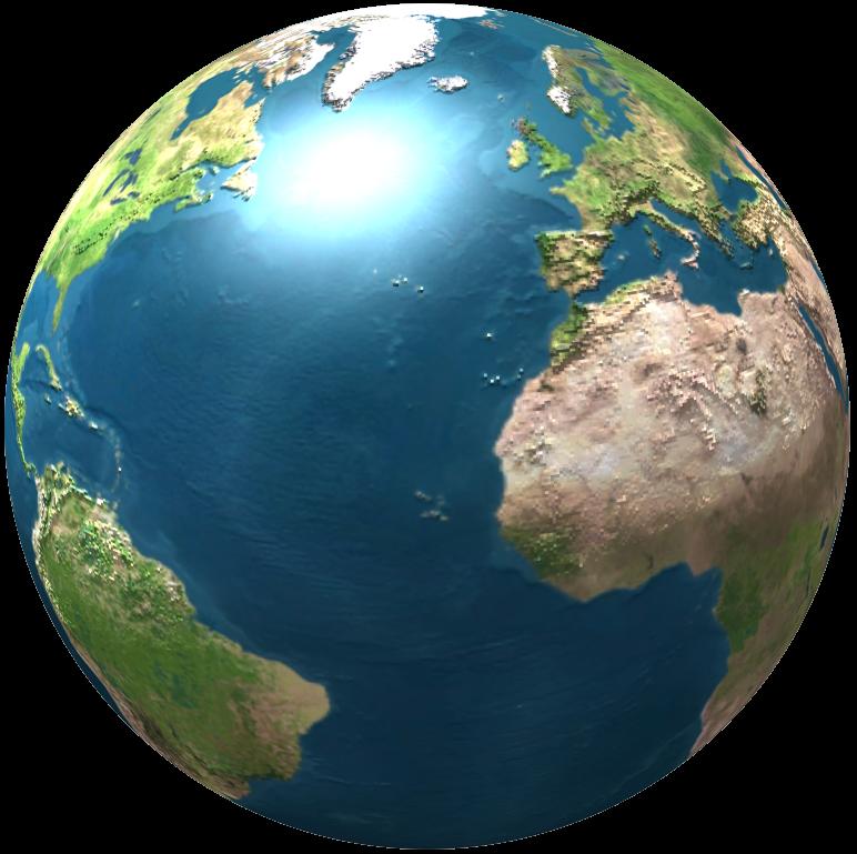 Realistic Globe Png image #39518