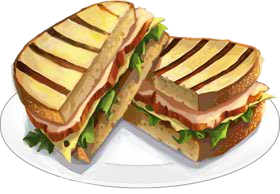 Recipe Turkey Panini Png image #3001