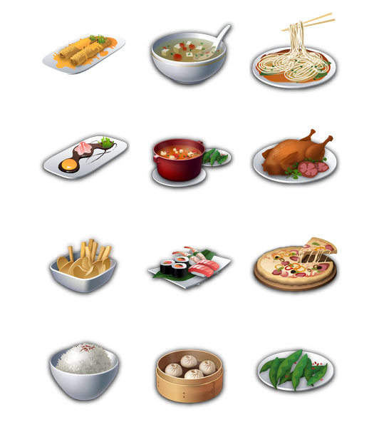 Recipes Full Icon Png image #2999