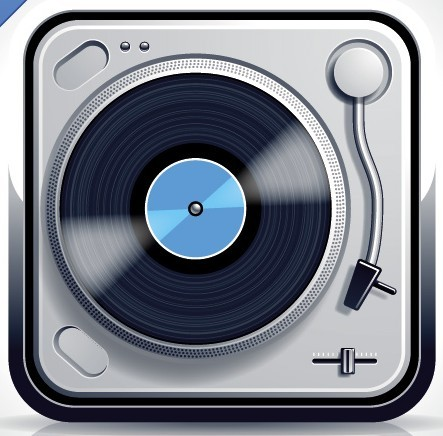 Record Player Icon image #9189