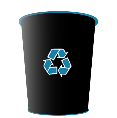 Transparent Recycle Bin Png image #16260