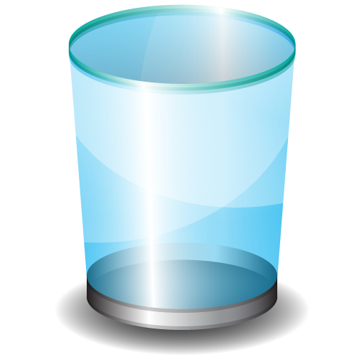 File recovery from emptied recycle bin