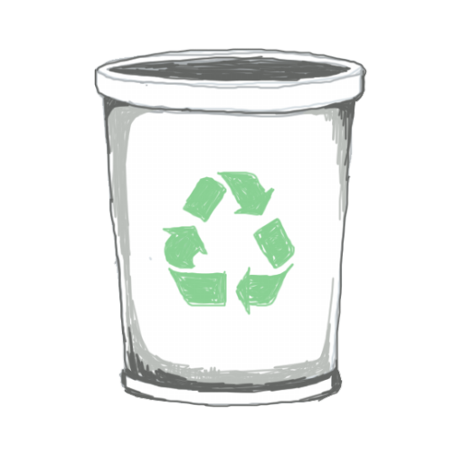 Transparent Recycle Bin Icon image #16252