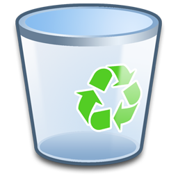 Vector Icon Recycle Bin image #16256