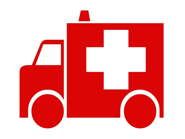 Red Ambulance Icon image #29975