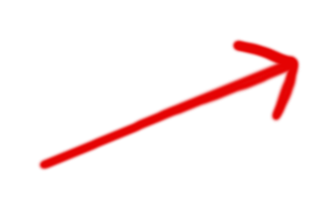 Red Vertical Arrow In Png image #4742