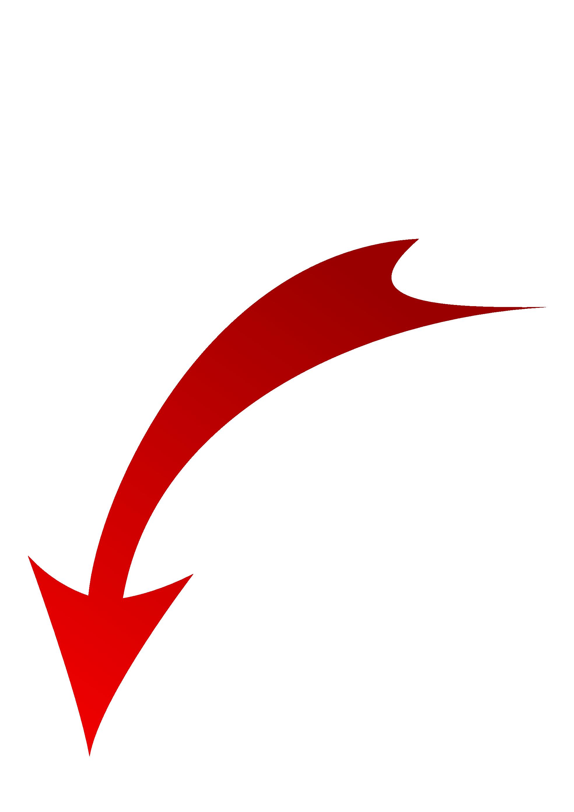 Red Down Arrow Transparent