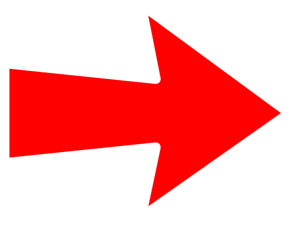 Red Right Arrow Png image #36947