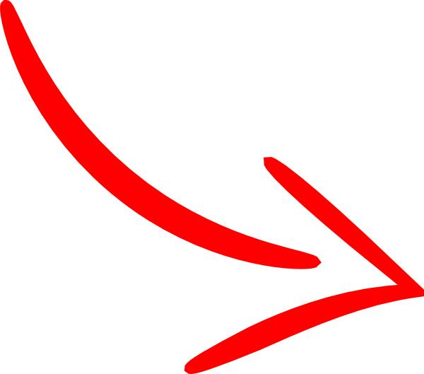 Red Arrow Line Png image #36962