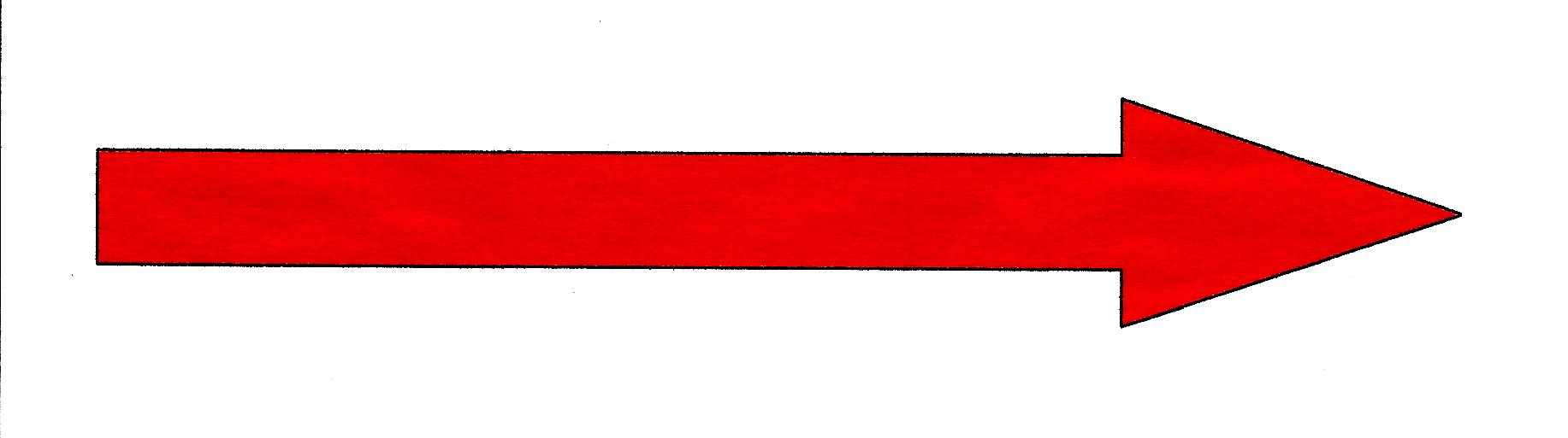 Red Arrow Png image #36967