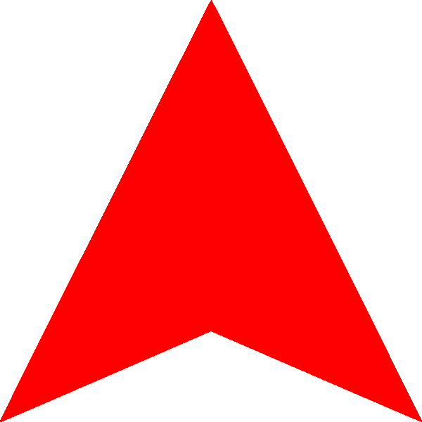 Red Arrow Up png