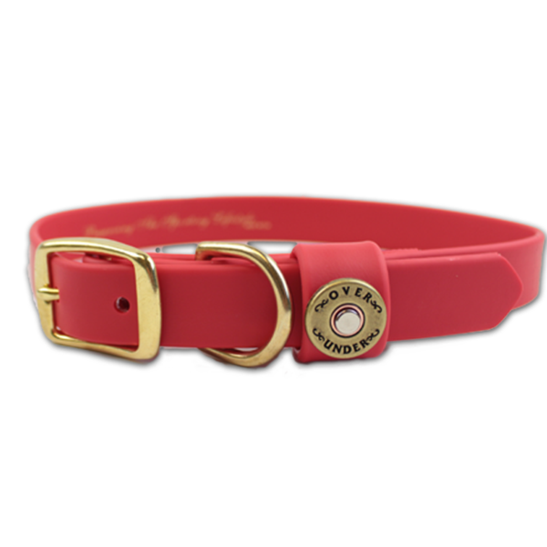 Red Background Dog Collar For Special Dogs Pictures image #48118