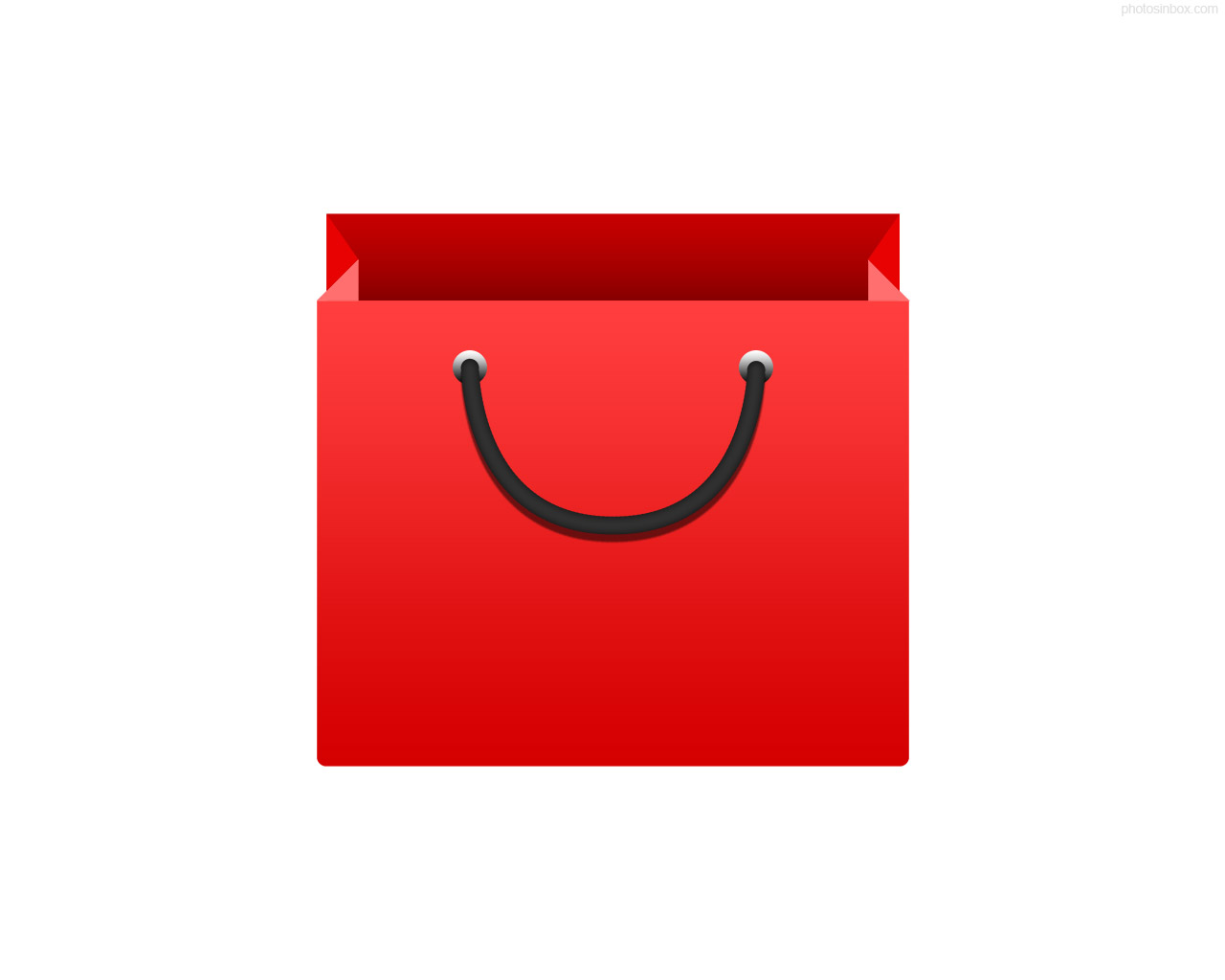 Red Bag Icon image #10475