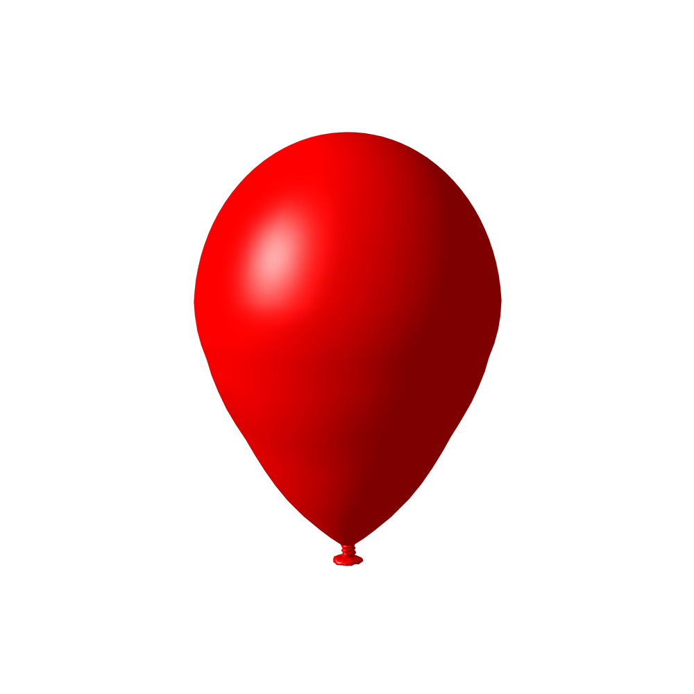 Red Balloon Png image #28087