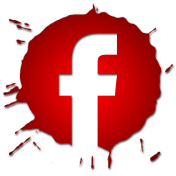 Red Blob Icon Facebook Png image #17336