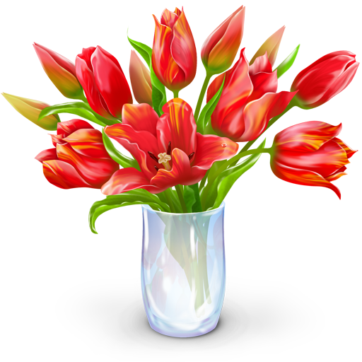 Red Bouquet Icon image #26631