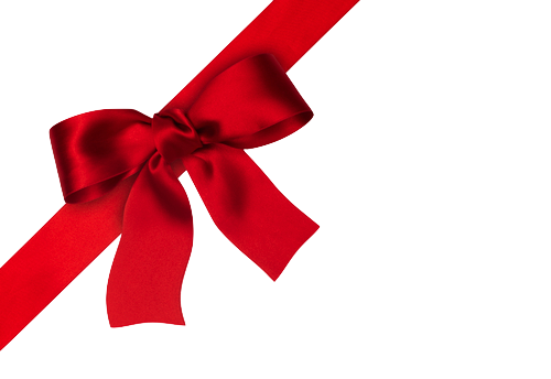 Red Bow Png image #42265