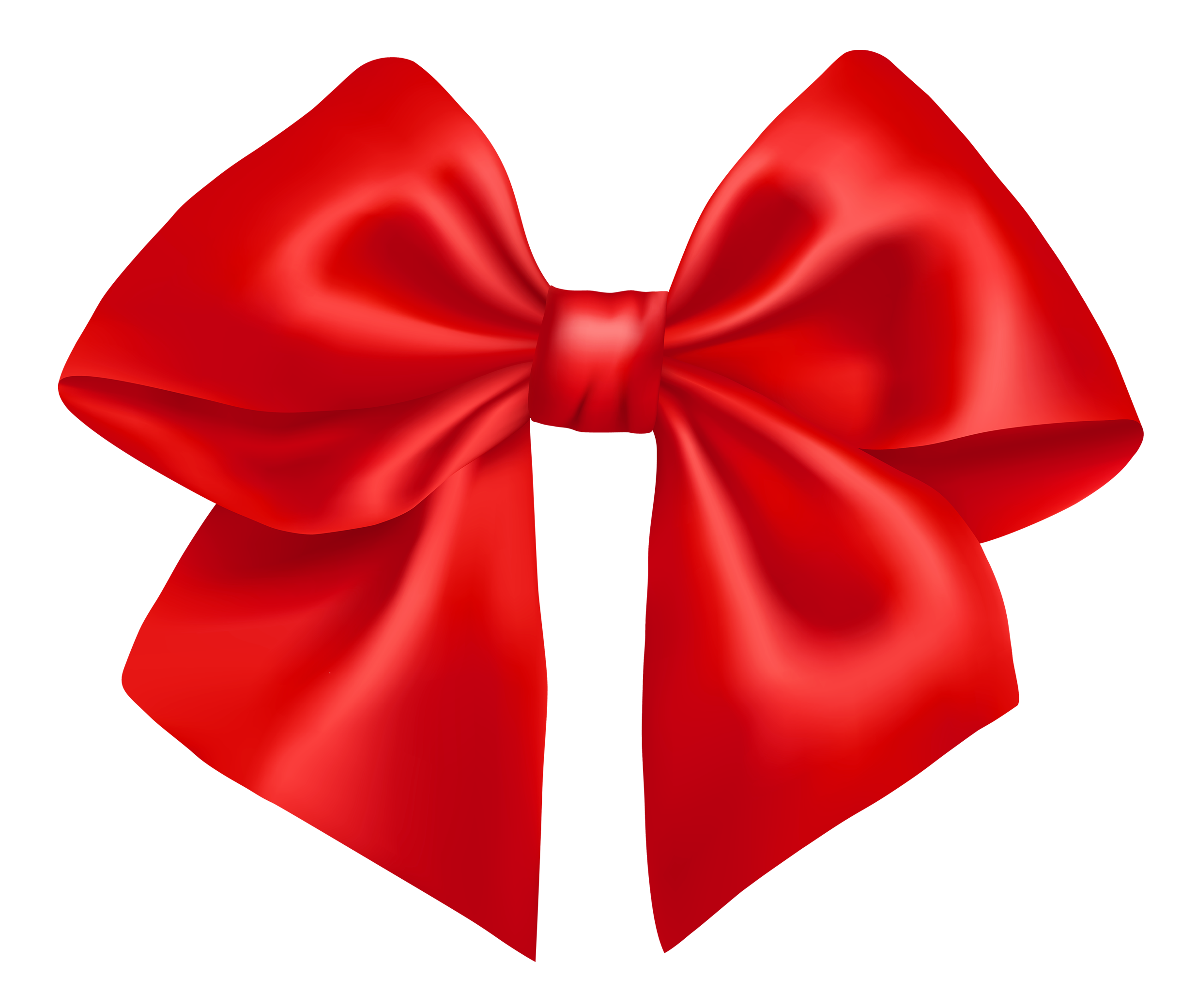 Red Bow PNG Transparent