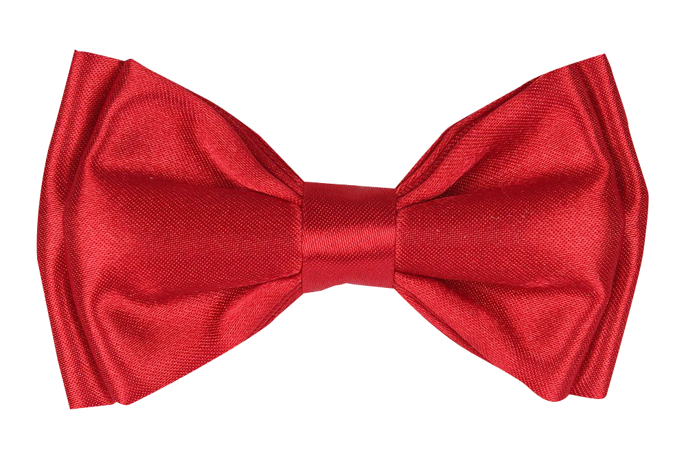 Red Bow Tie PNG Transparent Image image #42558