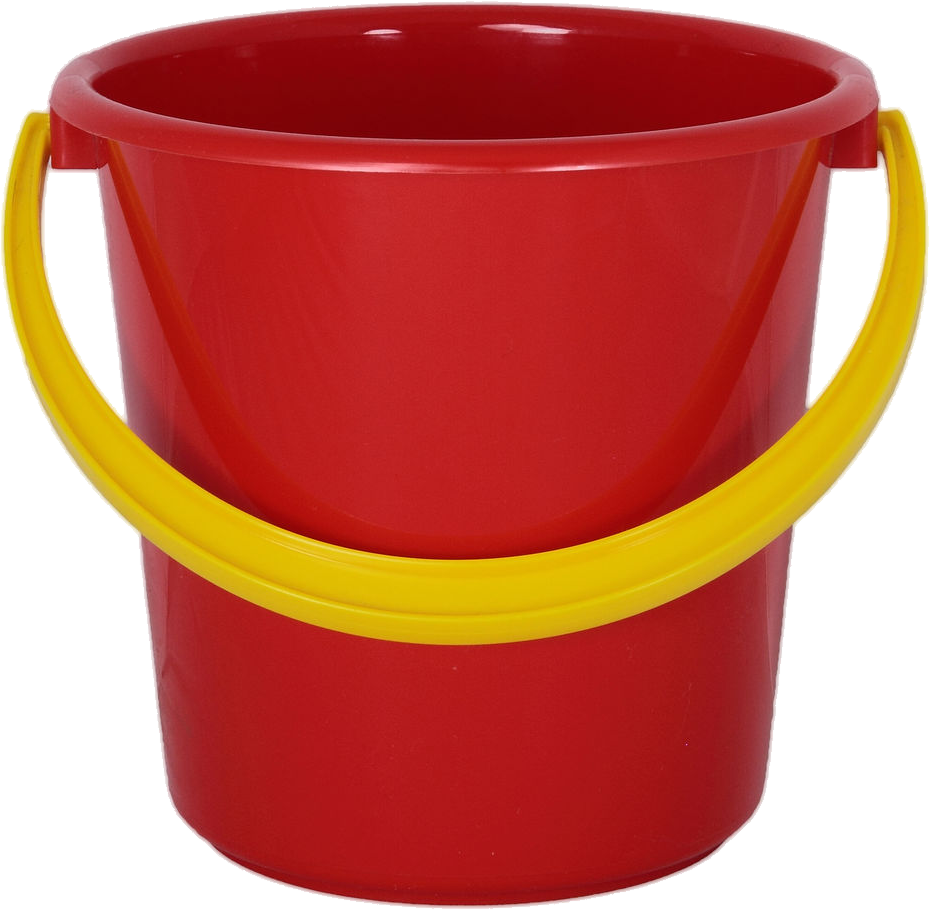 red bucket picture icon png format