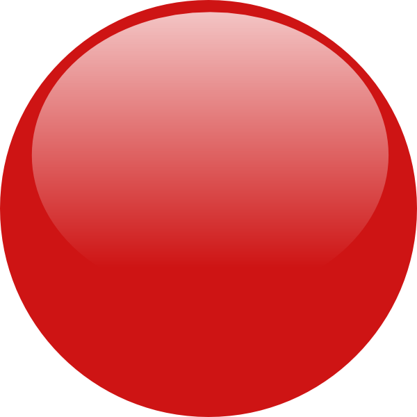 Red Button Icon Png image #21062