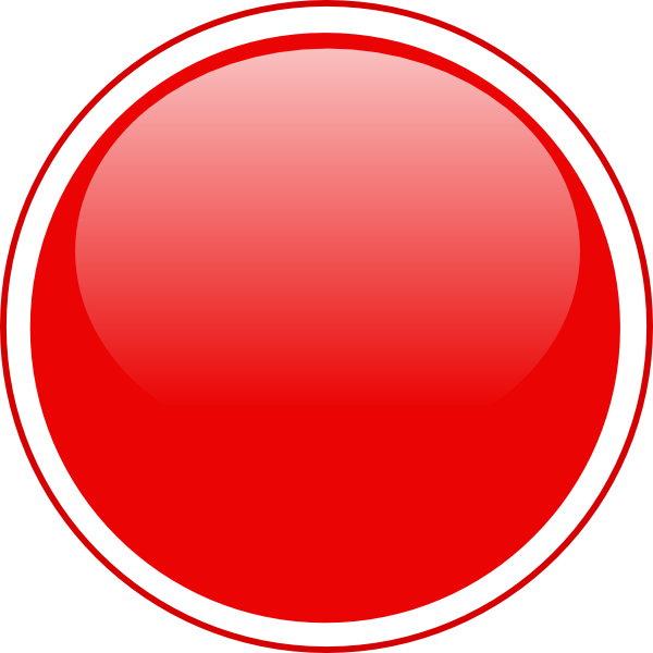Red Button Icon Png image #21047