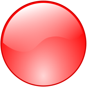 Red Button Icon Png image #21050