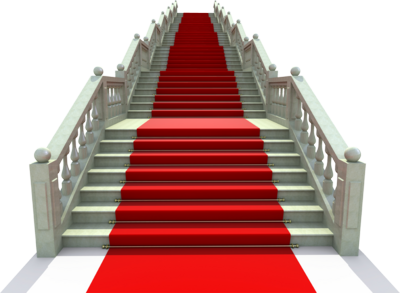Red Carpet With Steps PNG Image image #37051
