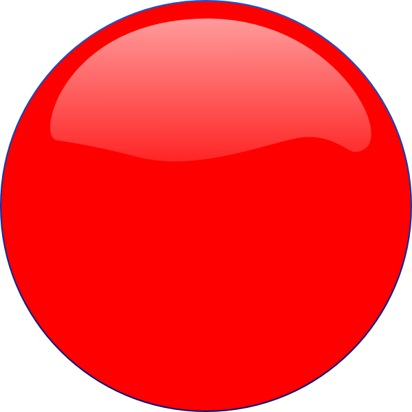Red Circle Icon image #16060