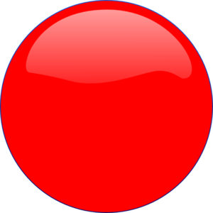 Red Circle Icon image #16069