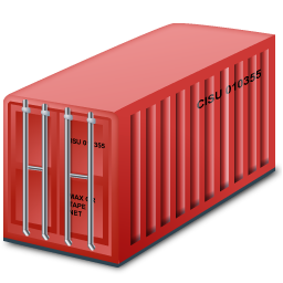 Red Container Icon image #31763