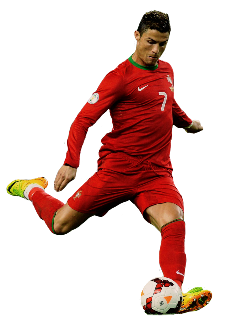 red cristiano ronaldo portugal nt png