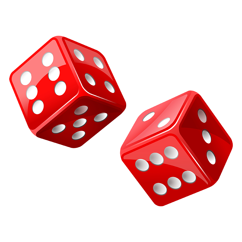 Red Dice Png image #27643