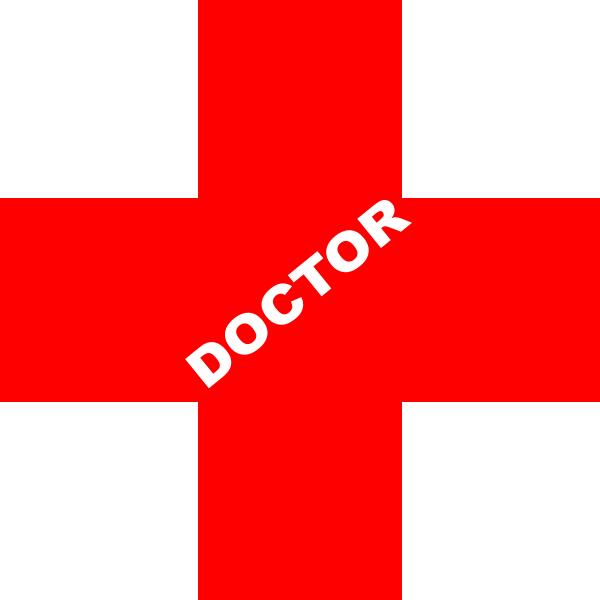 red doctor symbol clipart cross dr medical