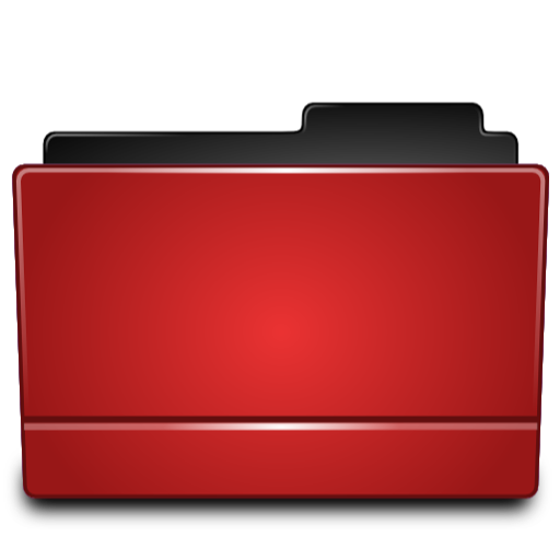 Red Folder, Directory Icon Png image #12389