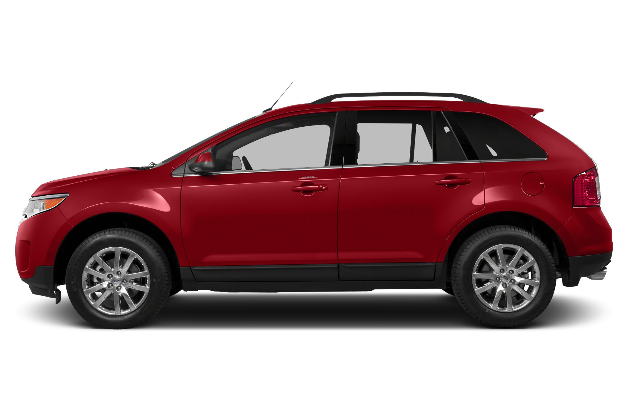 Red Ford Edge Png image #28029
